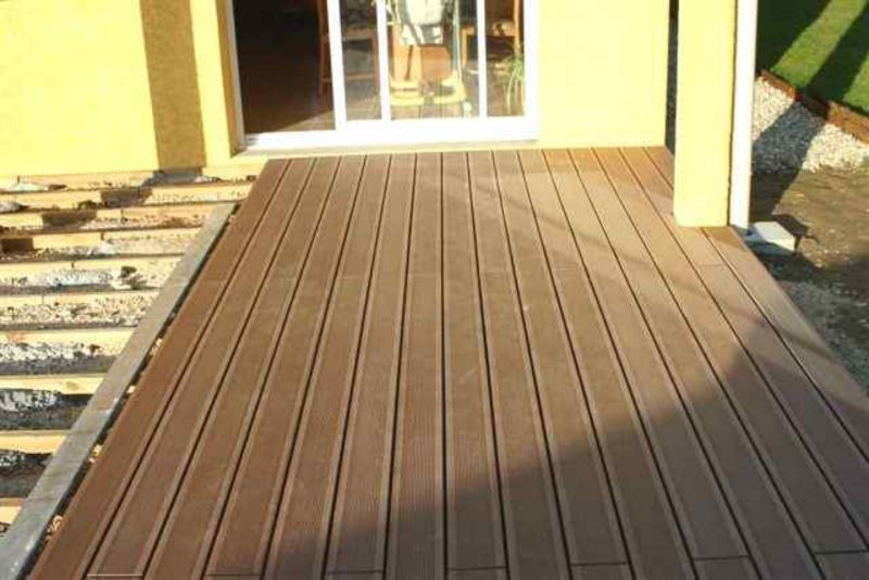 Pose De Terrasse En Bois Sur Dalle Beton 2 Populair Pictures to pin on
